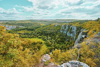 Photograph - Roussenski Lom Nature Park by Konstantin Kolev