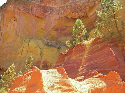 Roussillon Colours Art Print