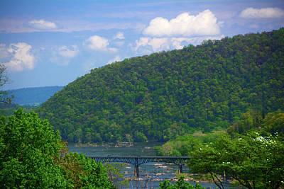 Photograph - Route 340 Bridge From Harpers Ferry by Raymond Salani III