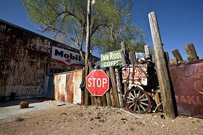 Photograph - Route 66-56 by Avril Christophe