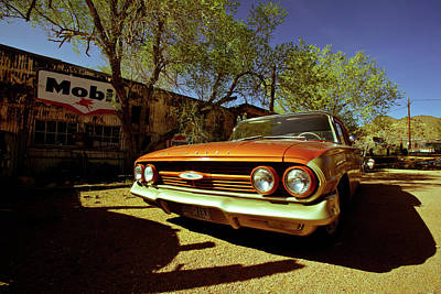Photograph - Route 66-57 by Avril Christophe