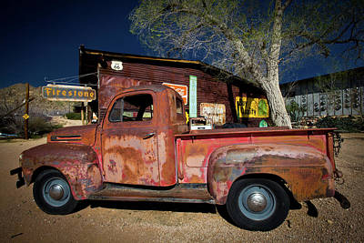 Photograph - Route 66-61 by Avril Christophe