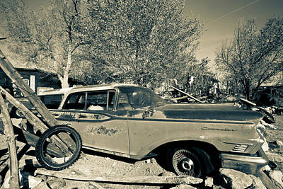 Photograph - Route 66-68 by Avril Christophe