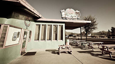 Photograph - Route 66-70 by Avril Christophe