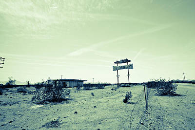 Photograph - Route 66-77 by Avril Christophe