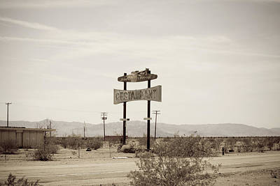 Photograph - Route 66-79 by Avril Christophe