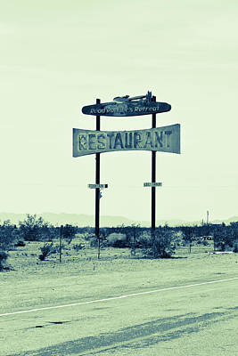 Photograph - Route 66-80 by Avril Christophe