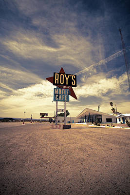 Photograph - Route 66-81 by Avril Christophe