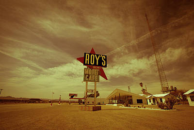 Photograph - Route 66-82 by Avril Christophe