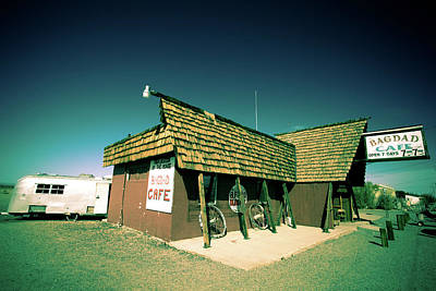 Photograph - Route 66-86 by Avril Christophe