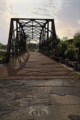 Route 66 Bridge Art Print