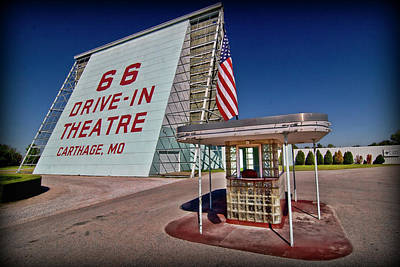 Photograph - Route 66 Drive In by Patricia Montgomery