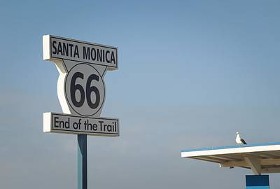Photograph - Route 66 by Fraida Gutovich