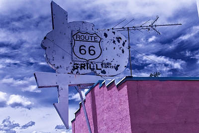 Route 66 Grill Art Print