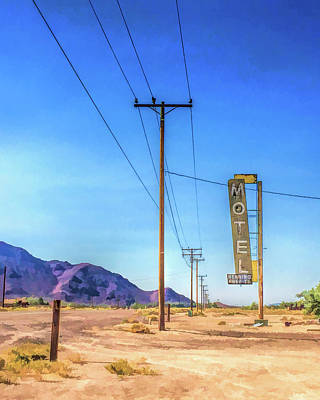 Painting - Route 66 Henning Motel by Christopher Arndt