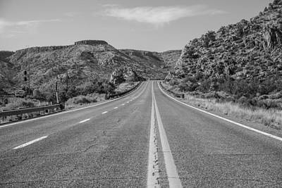 Photograph - Route 66 Highway by John McGraw