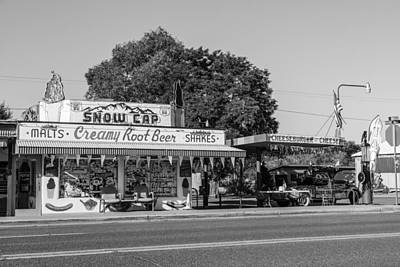 Photograph - Route 66 Ice Cream Stand by John McGraw