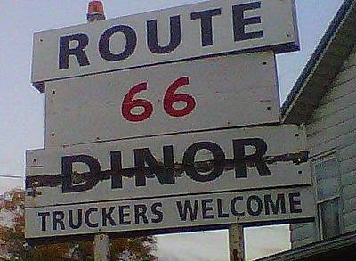 Truck Photograph - Route 66 by Kimberly  W