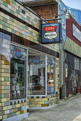 Photograph - Route 66 Mercantile Cuba Mo Dsc05597 by Greg Kluempers
