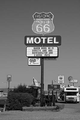Photograph - Route 66 Motel  by John McGraw