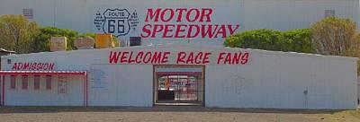Route 66 Motor Speedway Art Print