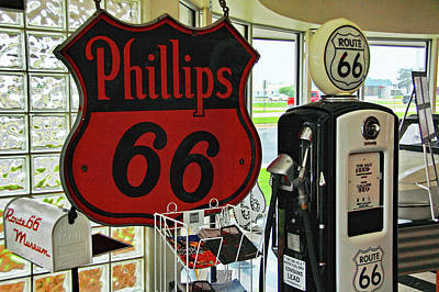 Photograph - Route 66 Museum by Ben Prepelka