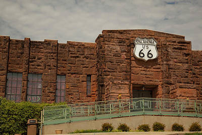 Photograph - Route 66 Museum by Katherine Worley