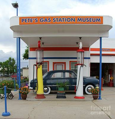 Photograph - Route 66 Museum by Suzanne Oesterling