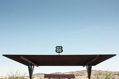 Photograph - Route 66 Rest Stop by Gravityx9 Designs