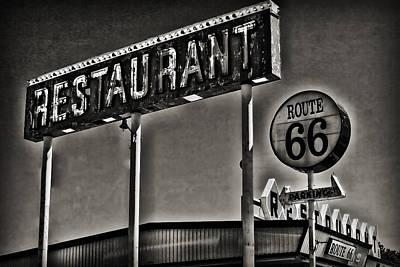 Route 66 Restaurant Art Print