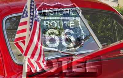 Photograph - Route 66 The American Highway by David Lee Thompson