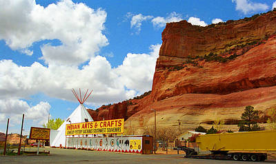 666 Photograph - Route 66 Trading Post 2 by Frank Romeo