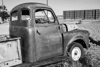 Photograph - Route 66 Truck by John McGraw