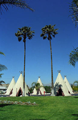 Photograph - Route 66 - Wigwam Motel Ca by Frank Romeo