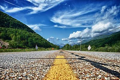 Cloudscape Photograph - Route 7 by Nathan Larson