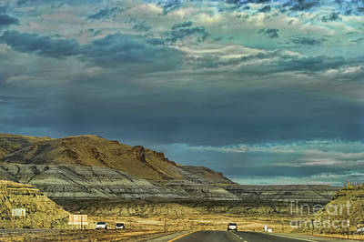 Photograph - Route 80 Driving Highway America  by Chuck Kuhn