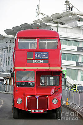 Photograph - Routemaster Bus Epsom by Julia Gavin