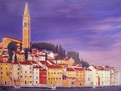 Rovinj Art Print by Anthony Meton