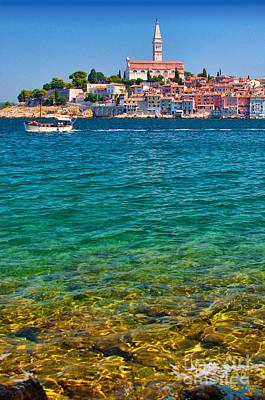 Photograph - Rovinj Croatia by Graham Hawcroft pixsellpix