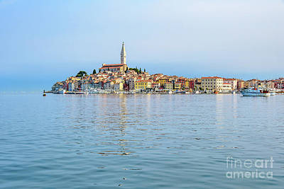 Photograph - Rovinj In The Early Morning Fog, Istria, Croatia by Global Light Photography - Nicole Leffer