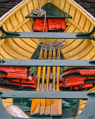 Photograph - Row Boat by Chris Lord
