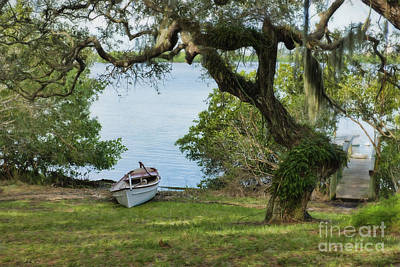 Photograph - Row Boat In Florida by David Arment