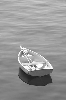 Row Boat Art Print by Mike McGlothlen