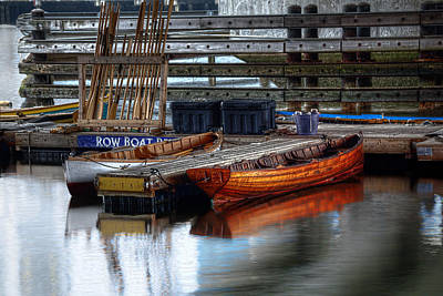 Photograph - Row Boat Rental by Rick Mosher