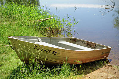 Photograph - Row Boat by Tikvah's Hope
