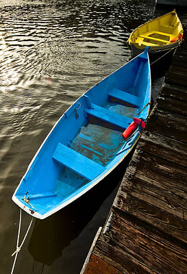 Photograph - Row Boats by Dale Stillman