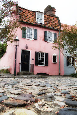 Road Photograph - Row House - Charleston by J Darrell Hutto