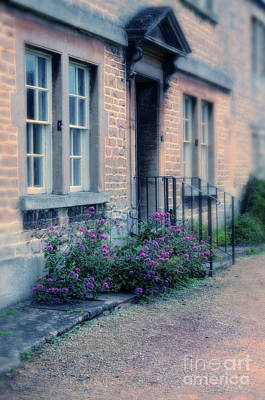 Photograph - Row House Entrance by Jill Battaglia