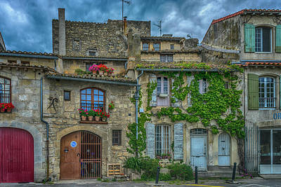 Photograph - Row Houses Arles France_dsc5719_16_dsc5719_16 by Greg Kluempers
