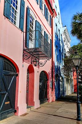Photograph - Row Houses Charleston by Carol Montoya